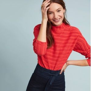 NWT Anthropologie Maeve Wren Buttoned Pullover